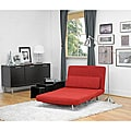 Anise Red Convertible Chair Bed Overstock Shopping