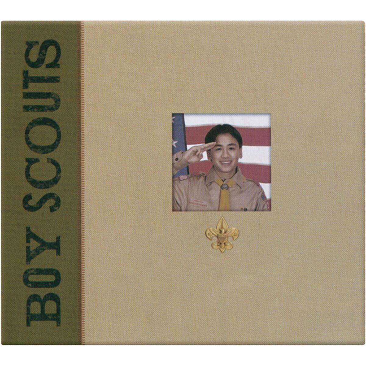 Postbound Boy Scouts Scrapbook Album 11139423