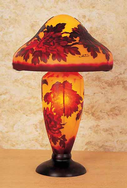 Cameo Glass Reproduction Galle Lamp 11188505 Overstock