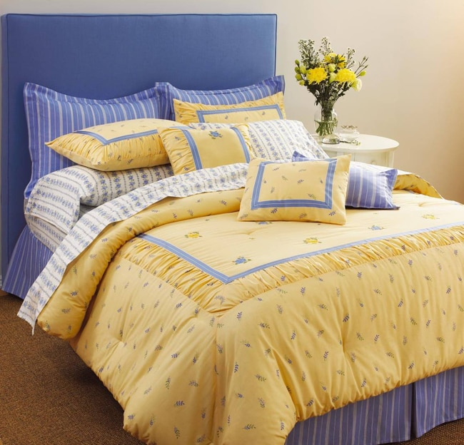 Laura Ashley Butter Cup 7 Piece Comforter Set 11191003 Overstock Com Shopping Great Deals