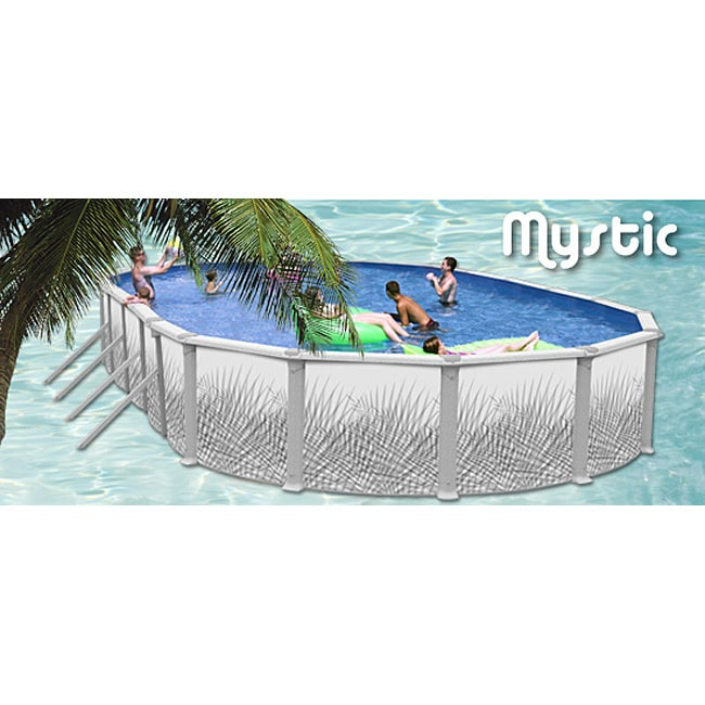 Mystic 18 Foot Above Ground Pool 11204119 Overstock