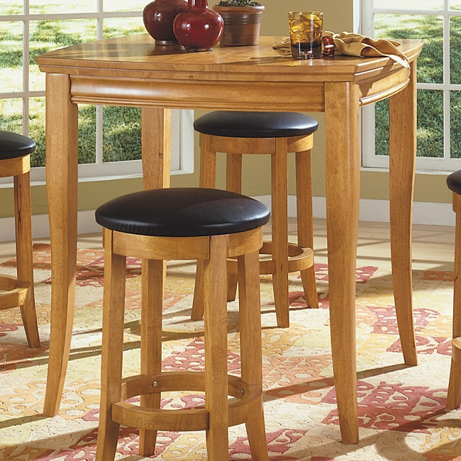Overstock Bar Table: Newport Pub Table In Natural Finish