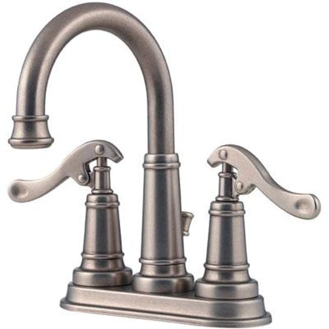 Price Pfister Ashfield Rustic Pewter Bathroom Faucet