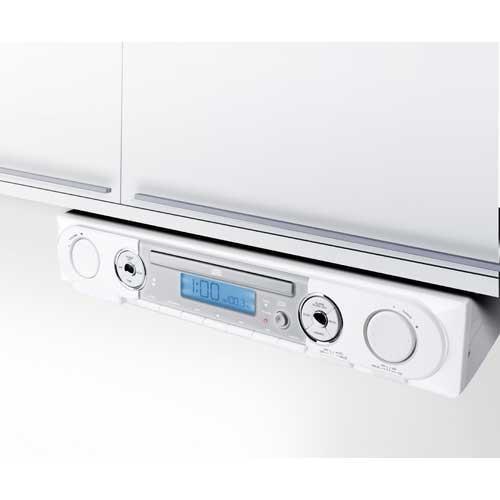 Kitchen Cabinet Radio Cd Player: Under Cabinet Stereo CD Player/ AM/ FM/ Alarm Clock