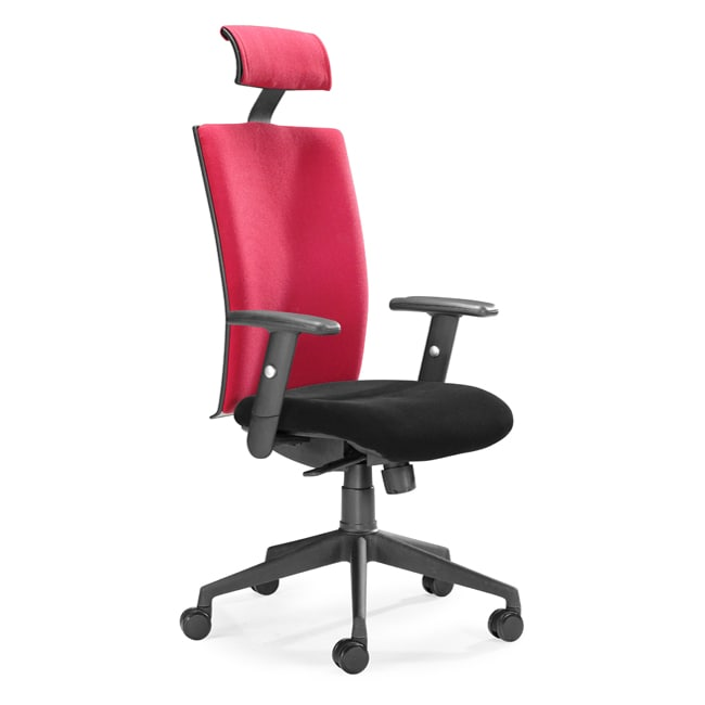 Overstock Office Furniture: Santa Fe Red Office Chair