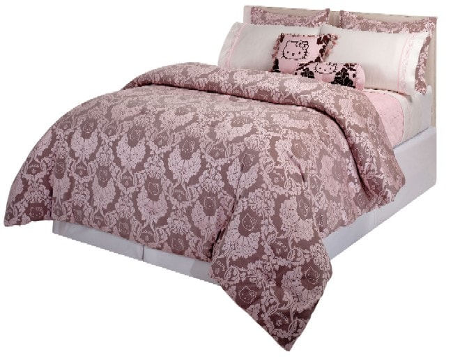 Hello Kitty Couture Damask Mini Comforter Set 11249019