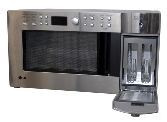 Lg Stainless Steel Finish Microwave Toaster Combo Refurb