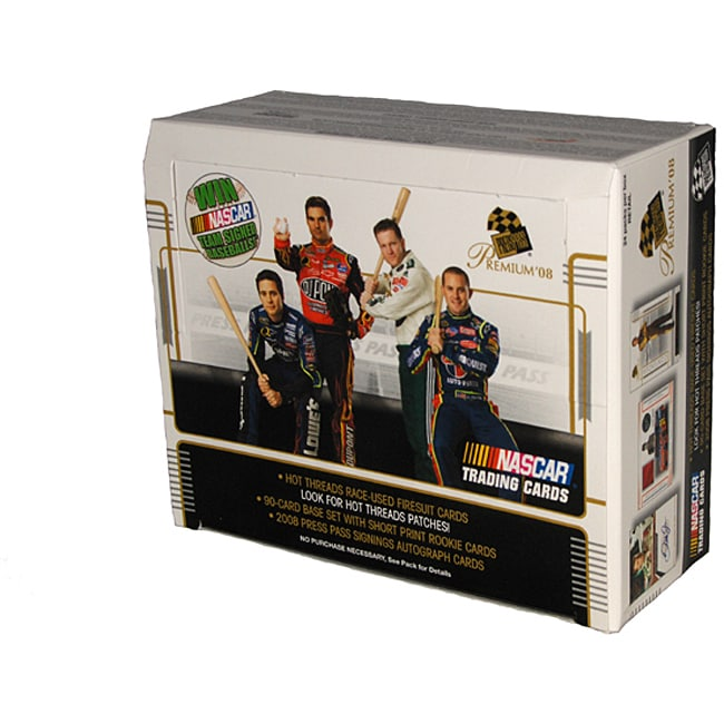 Nascar Press Pass Premium 2008 Trading Cards