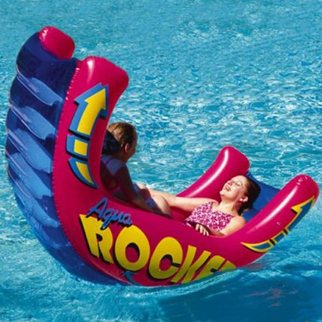 Aqua Rocker Fun Float 11298868 Overstock Com Shopping