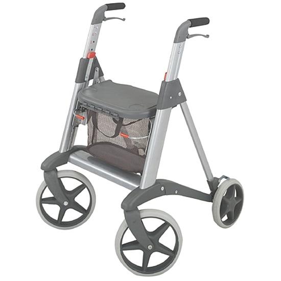 Cosco Silver Travel Rollator Walker 11326185 Overstock