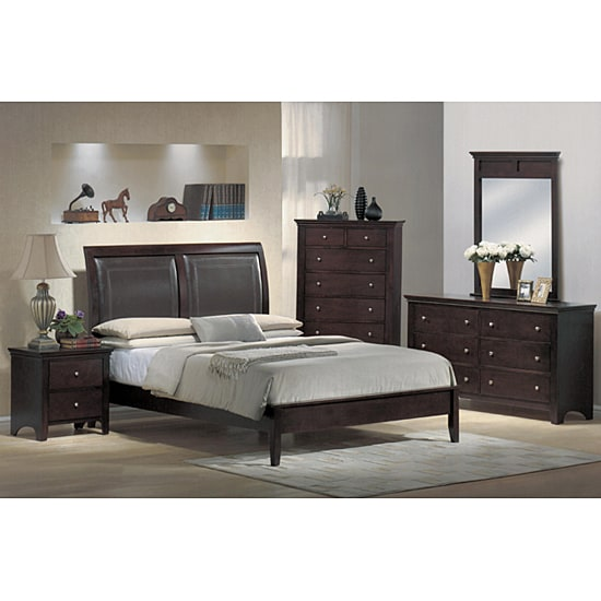Monte Carlo 5-piece Low-profile Queen Bedroom Set