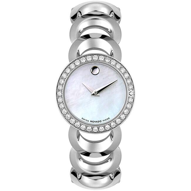 Movado Rondiro Women S Diamond Watch