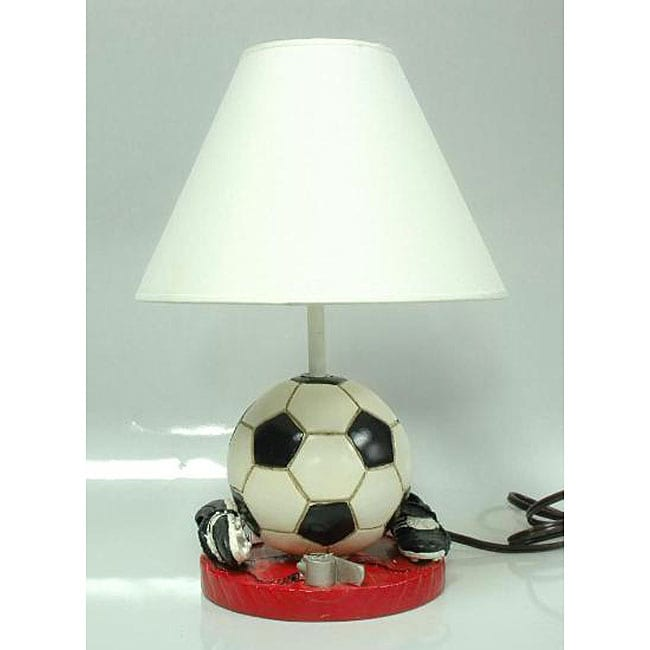 Soccer Ball And Cleats Sports Lamp With Shade Overstock