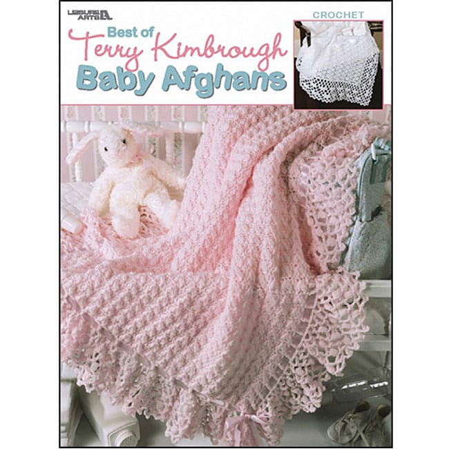 Leisure Arts Terry Kimbrough Baby Afghans Book