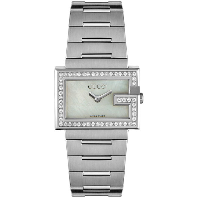 7f5a86c7c98 Gucci 100 Series Womens Diamond Watch on PopScreen
