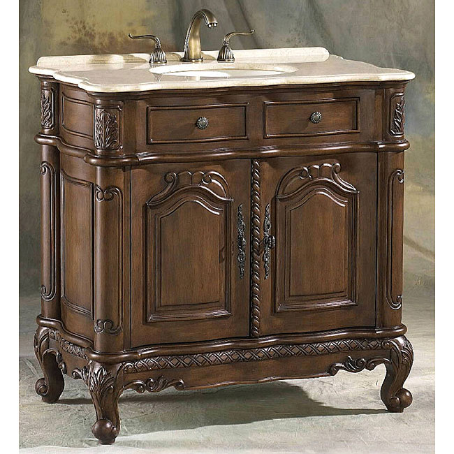 Overstock Clearance Furniture: ICA Furniture Nicolette Bathroom Vanity