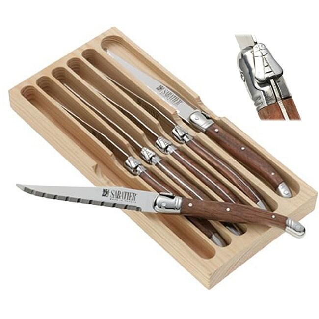 Sabatier Knives Review: Sabatier Laguiole 6-piece Steak Knife Set