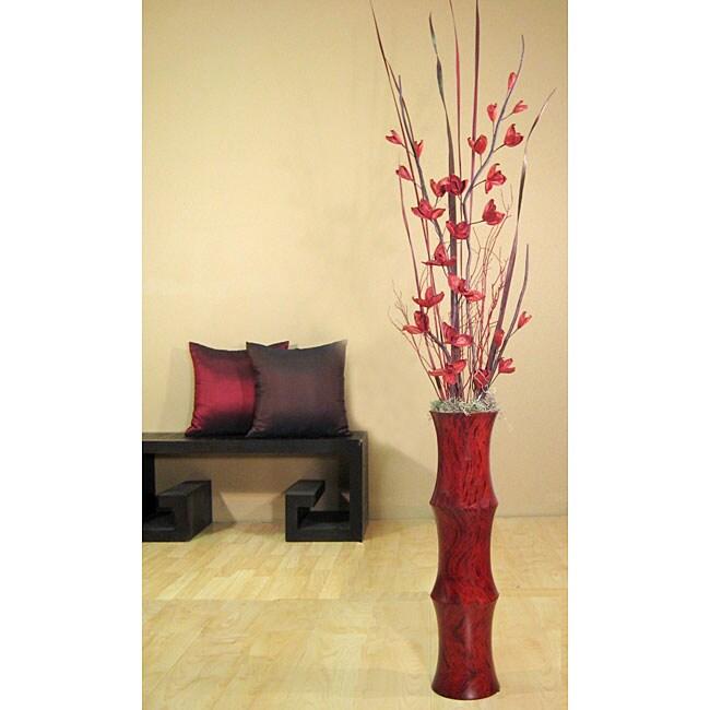L11518192 Floor Vase And Flowers on mosaic flower vase, funeral flower vase, log flower vase, box flower vase, kitchen flower vase, horizontal flower vase,