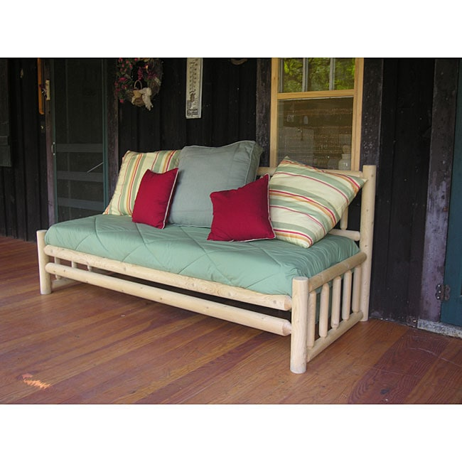 Rustic Log Pole Cedar Adirondack Day Bed 930945