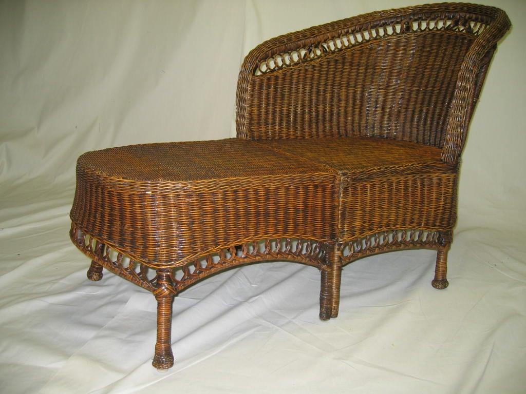 Wicker Chaise Lounge 10124357 Overstock Com Shopping