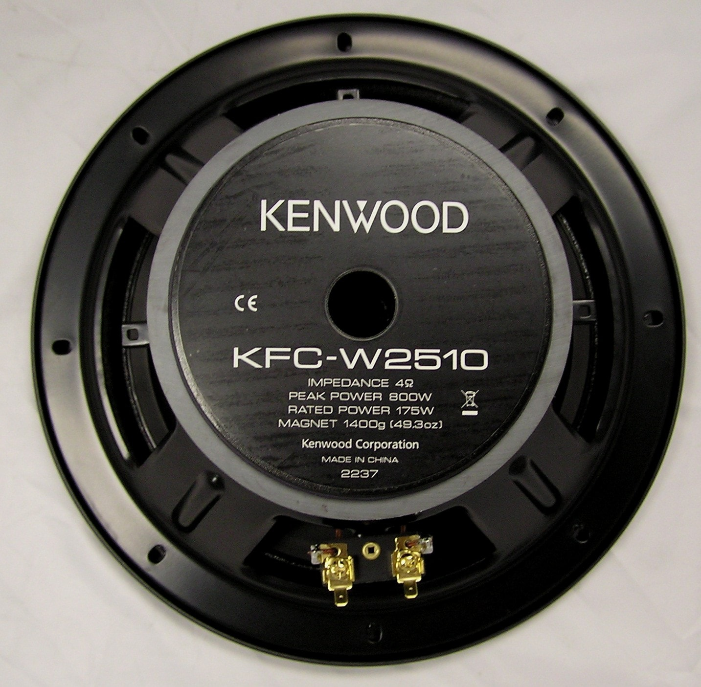 Genuine KENWOOD KFC-PS3016W 12 inch Single Voice Coil ... |Kenwood Woofers