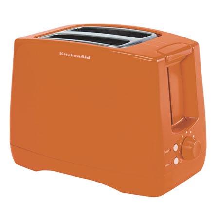 Kitchenaid Tangerine Toaster 11169047 Overstock Com