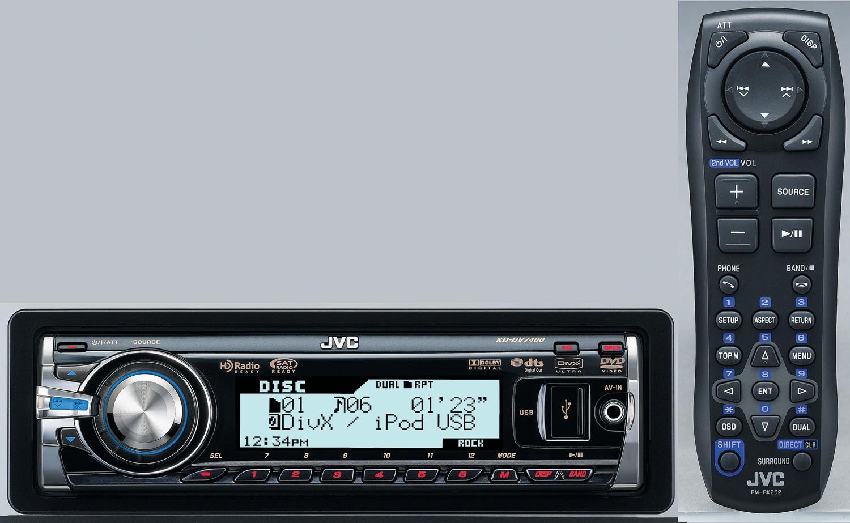 JVC KDDV7400 Car Stereo DVD Player