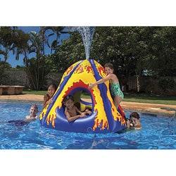 Poolmaster Waterpark Erupting Volcano Island 11387066