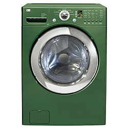 Lg 4 Cubic Foot Emerald Green Front Load Washer 11452393