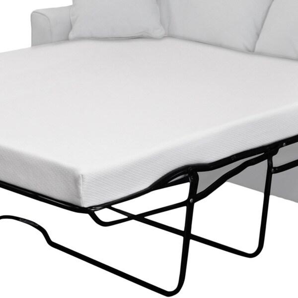 Select Luxury New Life 4.5-inch Full-size Memory Foam Sofa
