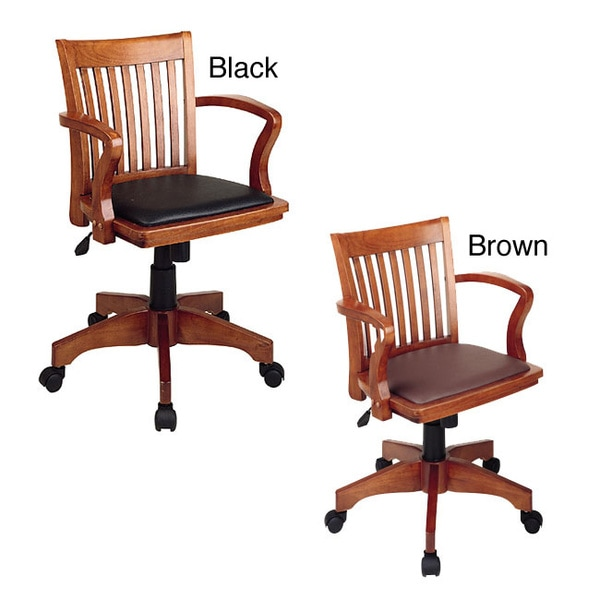 Overstock Office Furniture: Office Star Padded Banker's Chair