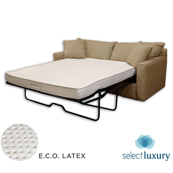 Sofa Bed Latex Mattress: Select Luxury Bedroom ECO Latex New 4.5 Inch Full Size