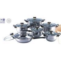 Blackstar 12-piece Stainless Steel Cookware Set