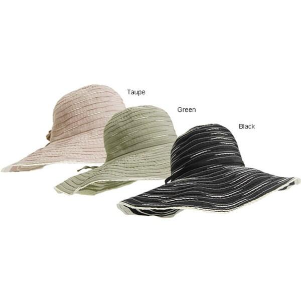 7e23bb331 Adi Designs 5 inch Brim Spiral Ribbon Sun Hat ADI Women's Hats on ...