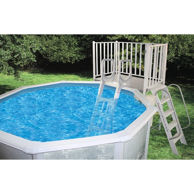 Free Standing Above Ground Swimming Pools: 52-inch Free Standing Above Ground Pool Deck