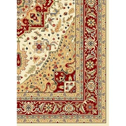 Safavieh Lyndhurst Collection Ivory Red Runner Rug 2 3 X