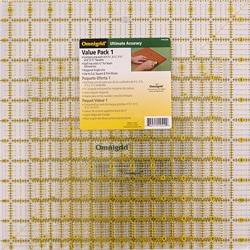Omnigrid Acrylic Quilter S Square Set Pack Of 4