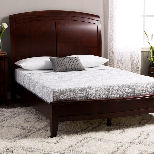 Split Panel Queen Size Wooden Sleigh Bed 11265803 Overstock Com Shopping Great Deals On