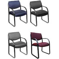 Boss Steel Frame Fabric Office Visitor Chair