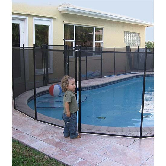 Water Warden Pool Safety Fence 5 Ft X 12 Ft 11305502