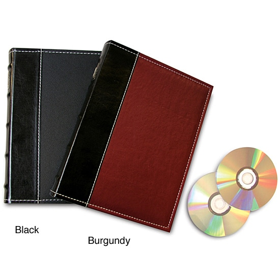Large CD/ DVD Storage Binder With Inserts