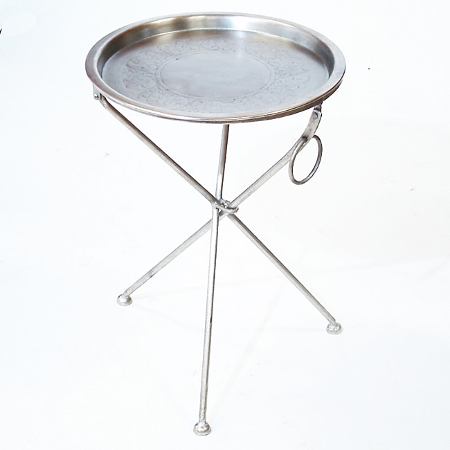Collapsible Cocktail Tray Table India 11367935
