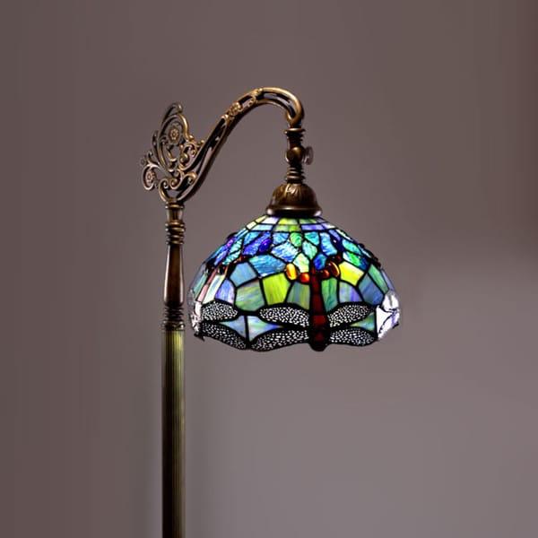 Tiffany Style Dragonfly Reading Lamp 11382020