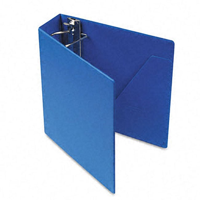 Blue Recycled Heavyweight 3-Inch Slant-D Ring Binder