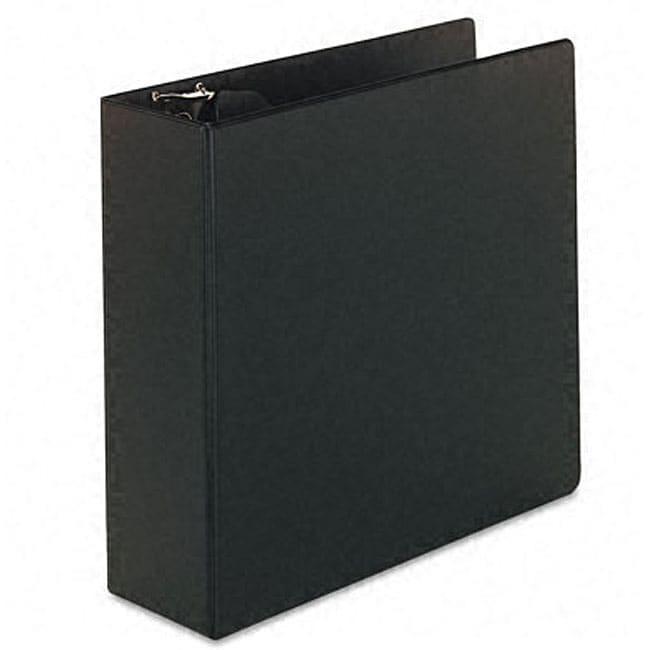 Basic 4-inch Vinyl D-ring Binder