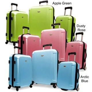Traveler S Freedom  Piece Hardside Spinner Luggage Set