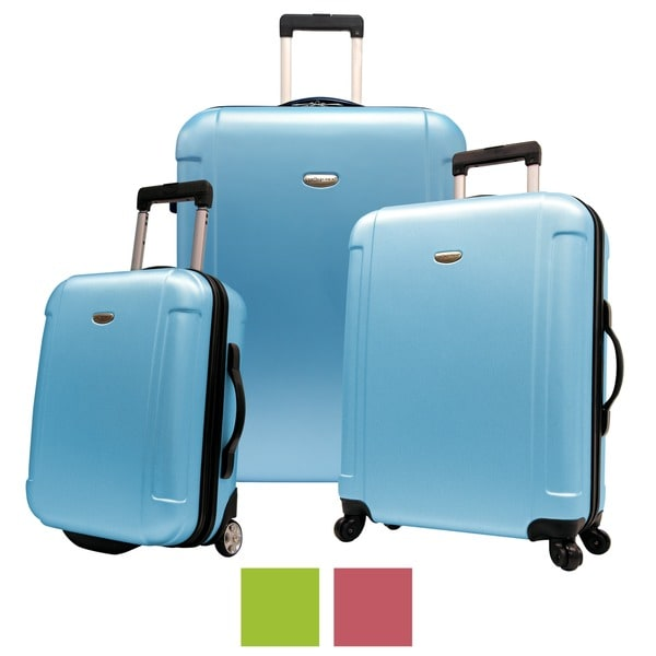 Travelers choice freedom 3 piece hardside spinner luggage set b1e3524d ea44 478c 9d33 7bbee3487e9a 600