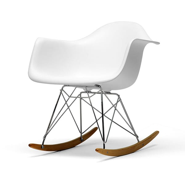 Vinnie Small White Cradle Chair 11442722 Overstock Com