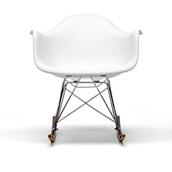 Vinnie Small White Cradle Chair Overstock Shopping