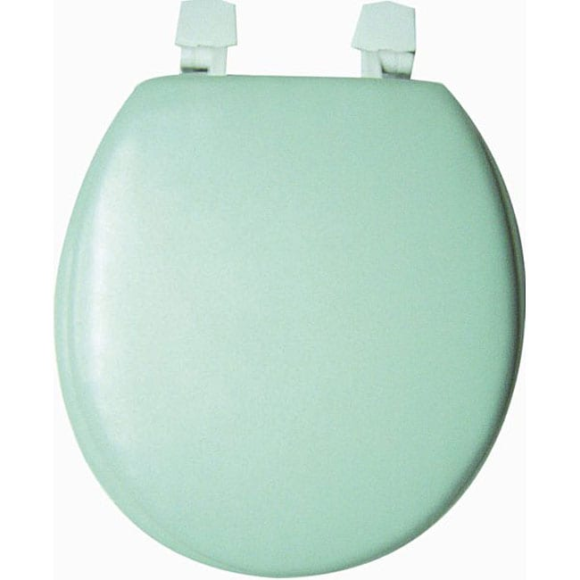 Trimmer Solid Soft Lake Green Toilet Seat 11525377